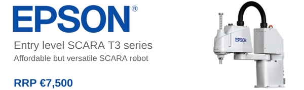 Entry level SCARA T3 series